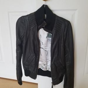 Leather jacket by Mackage